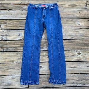 Zena | Vintage inspired high waisted mom jeans 12